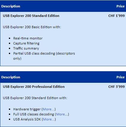 USB协议分析仪EX200 - 2 0-USB协议分析仪-艾北科技